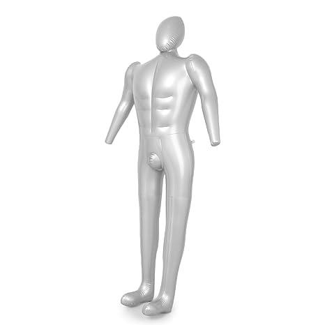 Newsmarts - Maniquí hinchable para hombre, diseño de torso ...