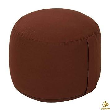 Yogabox cojín de meditación Rondo Grande, marrón: Amazon.es ...