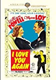 I Love You Again (1940)