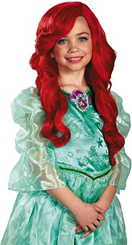 Disney Princess The Little Mermaid Ariel Child Wig (Little Kid Costume)