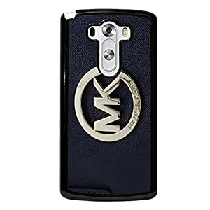 Hipster Leather Golden Logo Michael Kors Phone Case Cover for LG G3 Elegant Series MK