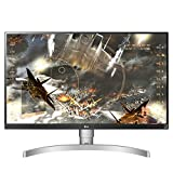 "LG 27UK650-W 27"" 4K UHD IPS Monitor with HDR10 and AMD FreeSync Technology (2018)"