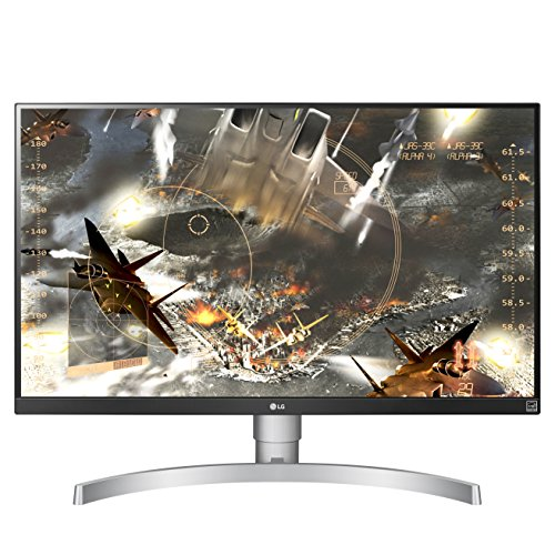 "1. LG 27UK650-W 27"" 4K UHD IPS Monitor"