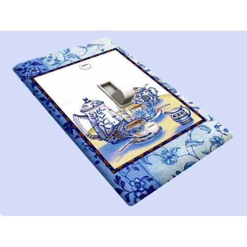 Blue Willow Tea Decorative Switchplate Cover