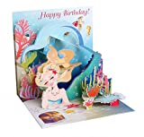 3D Greeting Card from Up With Paper - MERMAID'S BIRTHDAY