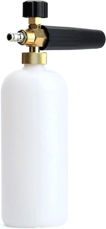 "Fasmov Car Wash Pressure Washer Jet Wash 1/4"" Quick Release Adjustable Snow Foam Lance Foam Cannon Foam Blaster: Automotive"