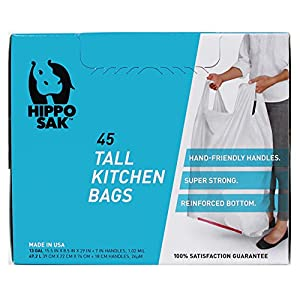 Hippo Sak 13 gallon tall kitchen trash