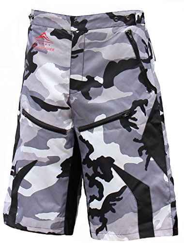 Men's BMX MTB Baggy Mountain Bike Vented Shorts