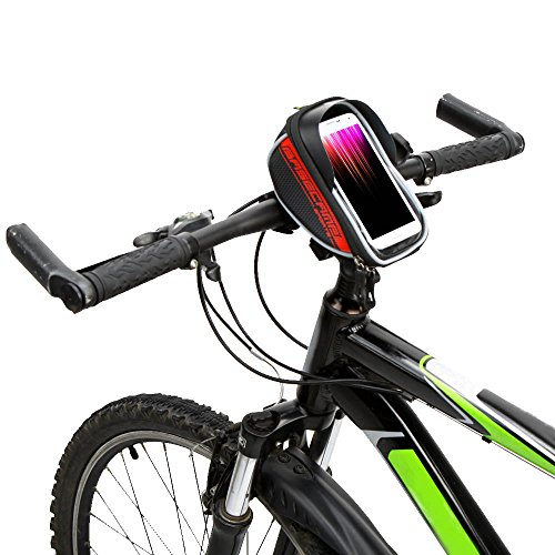 "Docooler MTB Bike Fahrrad Oberen Frontrahmen Lenkertasche Fahrrad Tasche zum Anfassen f¨¹r 5.5"" Zoll Handy"