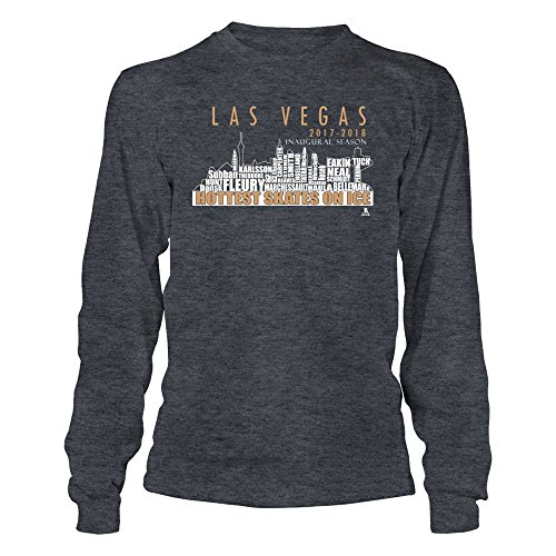 Las Vegas Hockey Team Roster - Golden Knights Team Shirt. - Gildan Long-Sleeve T-Shirt - Officially Licensed Fashion Sports Apparel ()