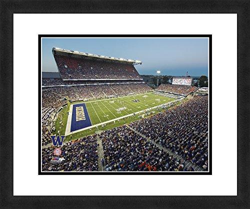 "NCAA Washington Huskies Stadium, Beautifully Framed and Double Matted, 18"" x 22"" Sports Photograph (Washington Huskies Photograph)"