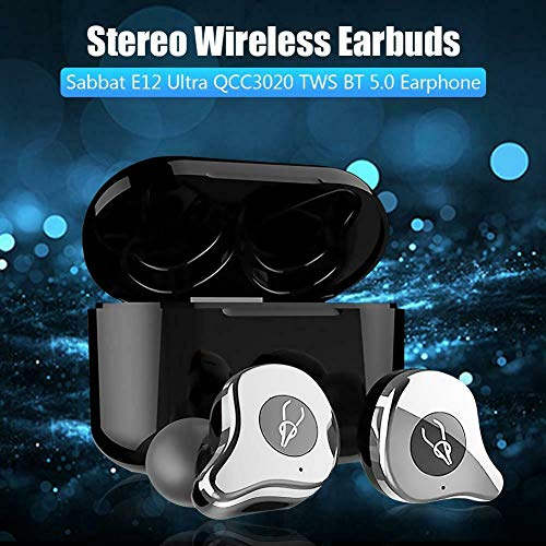 Metermall Sabbat E12 Ultra QCC3020 TWS BT V5.0 Sports Earbuds Wireless Charging Noise Canceling Headphones Red