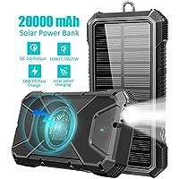 GOODaaa 20000mAh Solar Power Bank