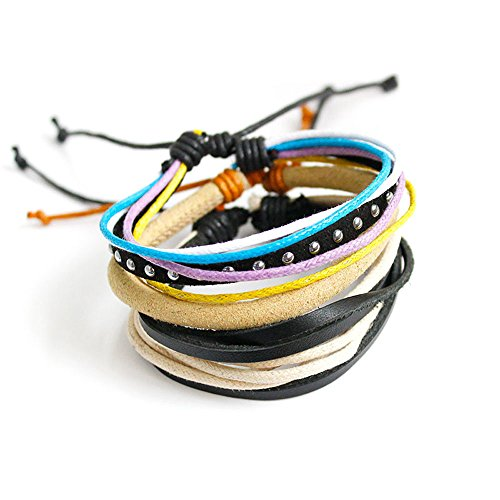 Multilayer Bracelets for Men Fashion Women Handmade Wristband Leather Bracelet Bangle Wrap Bracelets Jewelry Accessories Gifts
