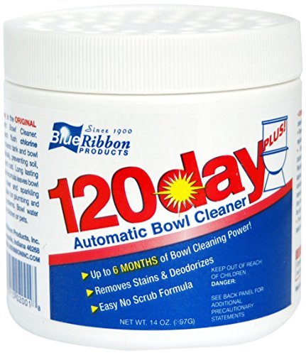 Price comparison product image Blue Ribbon 120 Day Plus Toilet Bowl Cleaner,  14 Ounce