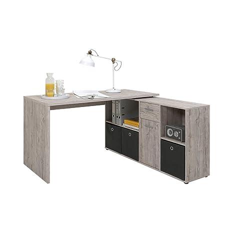 Fmd Möbel 353 001 Schreibtisch Winkelkombination Tisch Ca 136 X 75