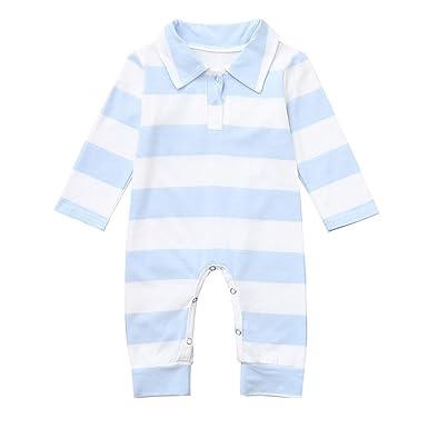 8ac8223165742 DAY8 Combinaison Bébé Garçon Hiver Pyjama Noël Bébé Fille Naissance 3-24  Mois Automne Manche