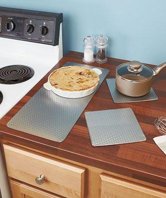Amazon.com: 3-pc. Countertop Protector Sets: Kitchen Counter Mats ...