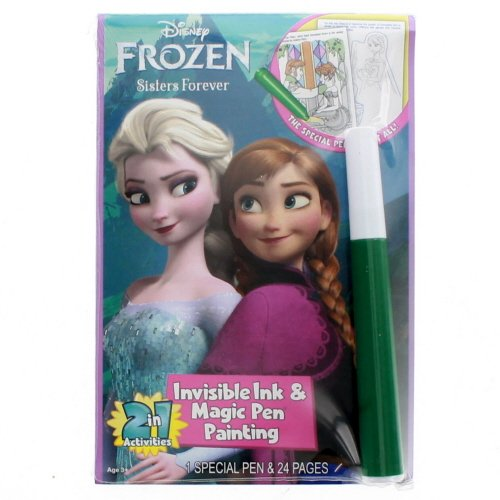 Disneys Frozen Invisible Ink Coloring - Magic Pen Disney