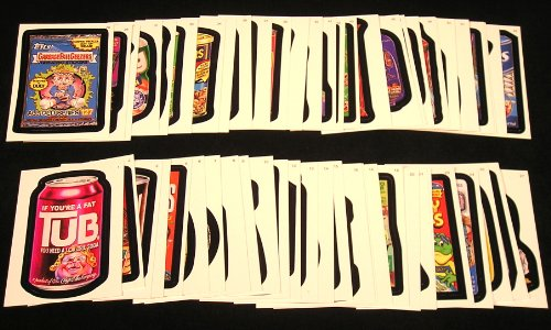 2007 Topps Wacky Packages Series 5 Complete Set of 55 Stickers (2007 Wacky Packages)