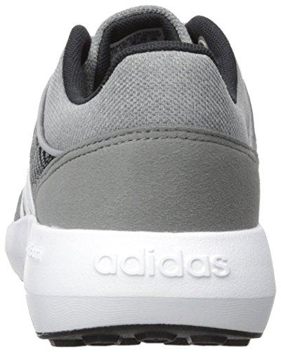 Adidas Neo Heren Cloudfoam Race Hardloopschoen Zwart / Wit / Grijs