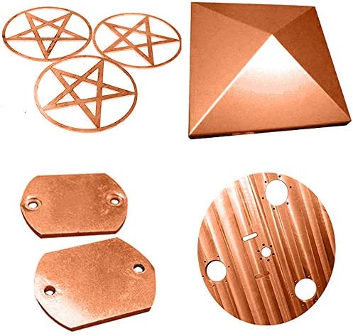 IQQI Copper Sheet Pure Copper for DIY Welding And Brazing Multiple Sizes and Thicknesses Available,200mm * 300mm *2.5mm