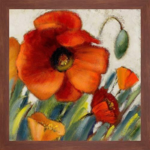 Poppy Splendor Square II by Lanie Loreth - 28