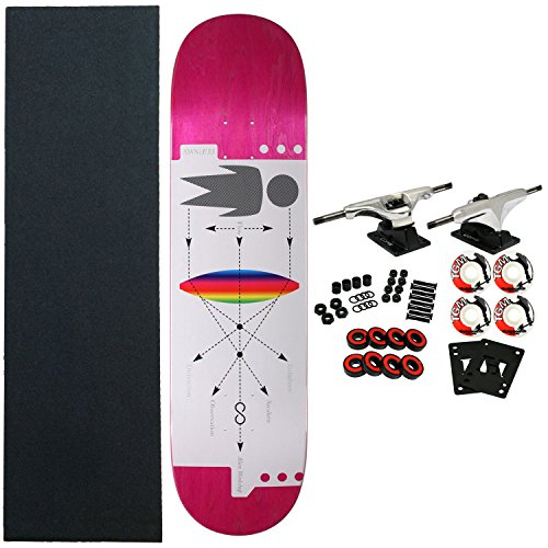 Alien Workshop Skateboard Complete Infinity - Workshop Alien Wheels