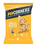 PopCorners Cinema Style Butter Snack Pack   Gluten Free Snack   (40 Pack, 1 oz Snack Bags)