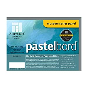 Ampersand Pastelbord 5 in. x 7 in. Gray Pack of 3