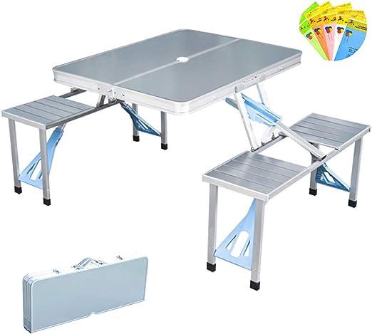 Mesa de picnic y playa Moamun todo en uno, mesa de camping ...