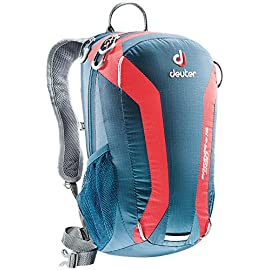 Deuter Speed Lite 15 – Ultralight 15-Liter Hiking Backpack, Arctic/Fire, 15 Liter
