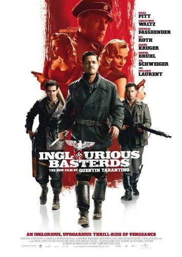 Inglourious Basterds Poster E Brad Pitt Diane Kruger Melanie Laurent