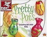 Pretty Ceramic Pot Vase Painting Arts & Craft Kit Girls Birthday Christmas Gift Ideas