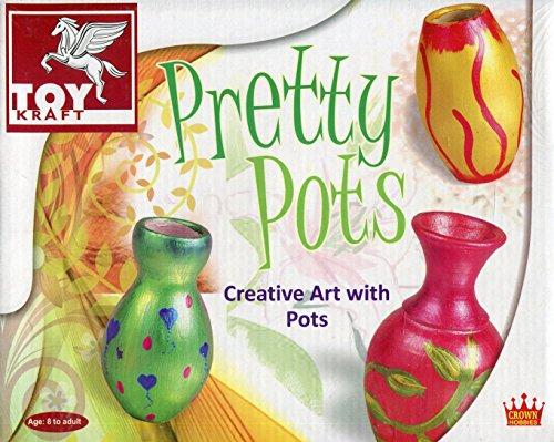 (ToyKraft Pretty Pots Multicolor)