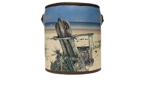 20 Oz Farm Fresh Ceramic Pail Candle Just Relax