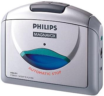 Amazon.com: Philips aq6491 reproductor de casete estéreo ...