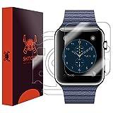Apple Watch Series 1 Screen Protector + Full Body (42mm), Skinomi TechSkin Full Coverage Skin + Screen Protector for Apple Watch Series 1 Front & Back Clear HD Film