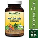 Cheap MegaFood – Men's One Daily, Multivitamin Support for Healthy Energy Levels, Prostate Function, Mood, and Bones with Zinc and B Vitamins, Vegetarian, Gluten-Free, Non-GMO, 60 Tablets (FFP)