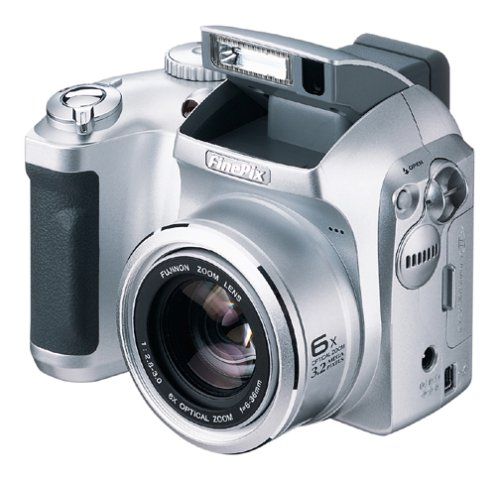 Fujifilm FinePix 3800 3MP Digital Camera w/ 6x Optical - Movie Pix Camcorder