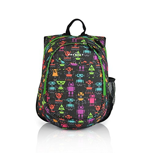 obersee-kids-pre-school-all-in-one-backpack-with-cooler-robots-by-obersee