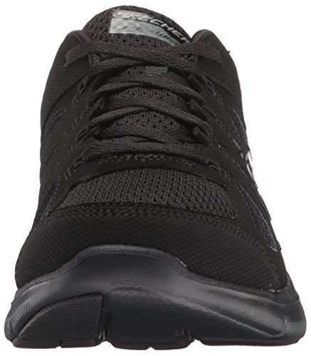 Skechers , Damen Sneaker schwarz Schwarz