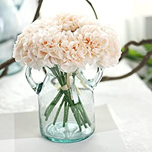 1 Bouquet /5pcs Wedding Artificial Hydrangea Flower Home Party Floral Decoration 5