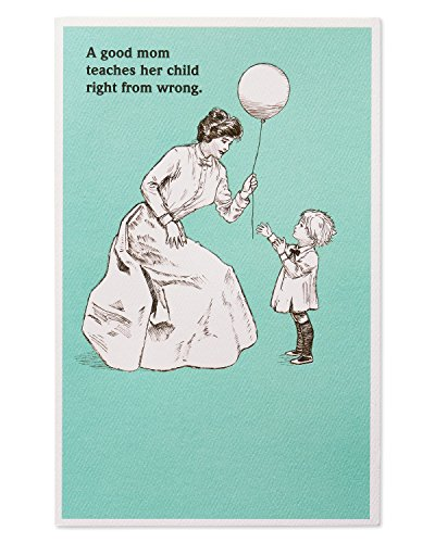 American Greetings Funny Birthday Card for Mom (Good Mom) (Birthday Mom For Funny Card)