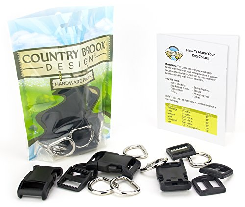 - Country Brook Design | 1 Inch Deluxe Dog Collar Kit