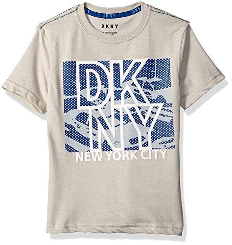 DKNY Boys Short Sleeve Grindle Jersey T-Shirt