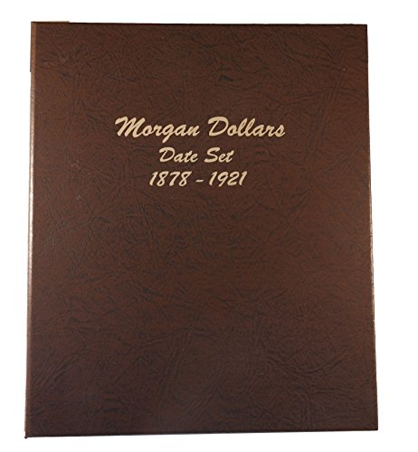 Dansco US Morgan Silver Dollar Date Set Coin Album 1878 - 1921 #7171