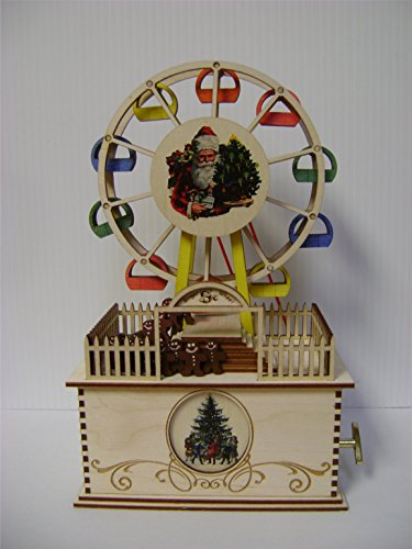 Ginger Cottages - Ferris wheel Music Box GCM109, Collectable 9