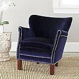 Safavieh Mercer Collection Connie Royal Blue Club Chair