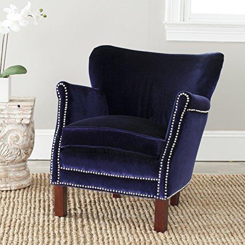 Safavieh Mercer Collection Connie Royal Blue Club (Royal Blue Recliner)